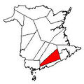 Map of New Brunswick highlighting Kings County 2.png