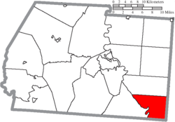 Location of Jefferson Township in Ross County