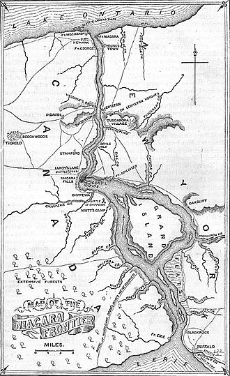 Battle of Lundy's Lane - The Niagara Frontier in 1814