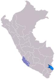 Ubicación de la Cultura Paracas