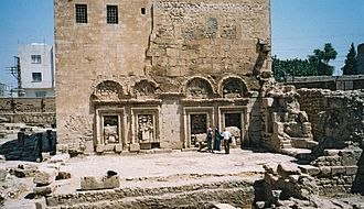 Nusaybin - The newly excavated Church of Saint Jacob in Nisibis.