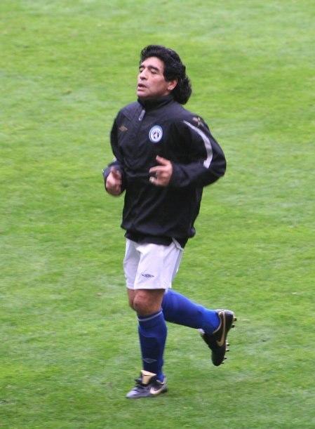 Maradona Soccer Aid 2