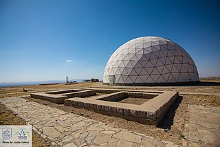 Maragheh observatory Ancient Persian astronomical observatory