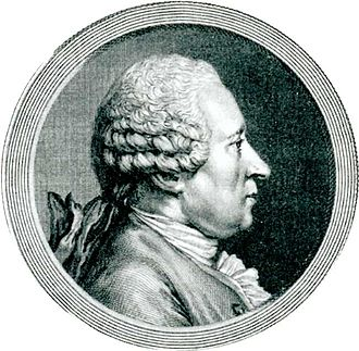 Marc-Antoine-Nicolas de Croismare - Engraving of the Marquis de Croismare by Halm on a drawing by Cochin the Younger.