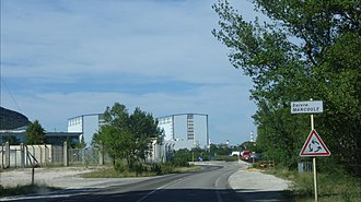Marcoule Nuclear Site - Image: Marcoule Site 2
