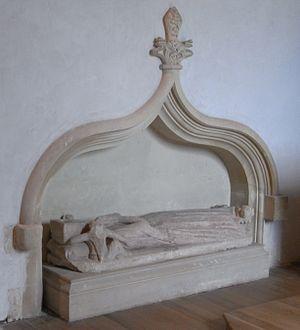 Manor of Powderham - Image: Margaret De Bohun Tomb Powderham Church