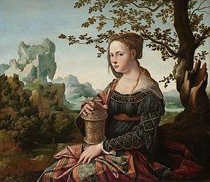 Mary Magdalene (Scorel) - Image: Maria Magdalena Rijksmuseum SK A 372