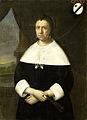 Maria Quevellerius (1629-64), eerste vrouw van Jan van Riebeeck, of diens tweede vrouw Maria Scipio (ca. 1630-95) Rijksmuseum SK-A-806.jpeg