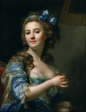 Marie-Gabrielle Capet - Self portrait in 1783, in the collection of the National Museum of Western Art in Tokyo