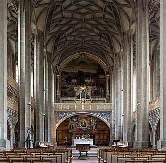Friedrich Wilhelm Zachow - The Reichel organ in the Market Church