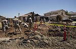 Marines recover, clean debris from Harrier crash in California 140609-M-HL954-543.jpg