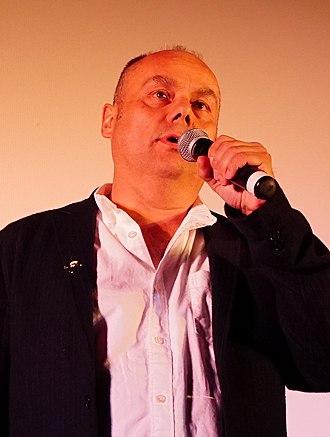 Mark Burton (writer) - Burton in 2015