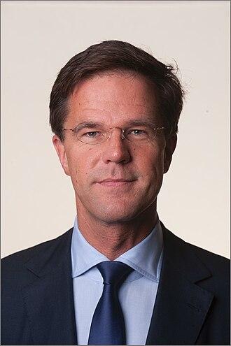 Second Rutte cabinet - Mark Rutte