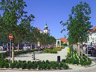 """Tirschenreuth - """"Market Place"""" in Tirschenreuth"""