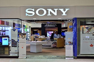Sony - Sony Store in Markville Shopping Centre in 2014