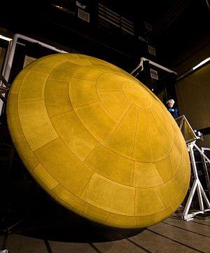 Aeroshell - Image: Mars Science Laboratory Heat Shield PIA12117