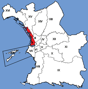 2nd arrondissement of Marseille - Image: Marseille Arrondissements 02