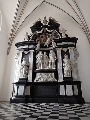 Thomas Quellinus - The Marselis epitaph in Aarhus Cathedral