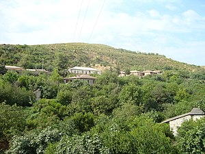 Aghdara (town) - Image: Martakert 061