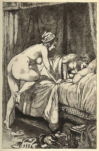 Charles Sorel, sieur de Souvigny - La vraye Histoire comique de Francion, illustration by Martin van Maële