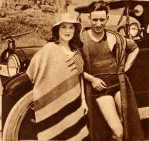 Mary Anderson (actress, born 1897) - Mary Anderson and husband Pliny Goodfriend (1922)