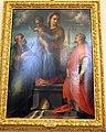 Maso da san friano (attr.), madonna tra i ss. g. gualberto e bernardo degli uberti, da villa dei vallombrosani a paterno.JPG