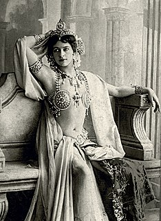 Mata Hari Dutch exotic dancer and spy