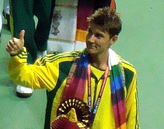 Matthew Ebden - Ebden won the bronze medal at the 2010 Commonwealth Games.