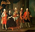 Maurice - Maria Theresa of Austria with her sons.jpg