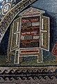 Mausoleo di galla placidia, int., san lorenzo alla graticola e armadio dei 4 vangeli, 04.JPG