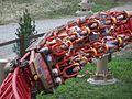 Maverick (Cedar Point) - Twisted horseshoe roll.JPG
