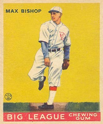 Max Bishop - Image: Max Bishop Goudeycard
