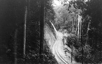 Mayombe - The Mayumbe railway, August 1930