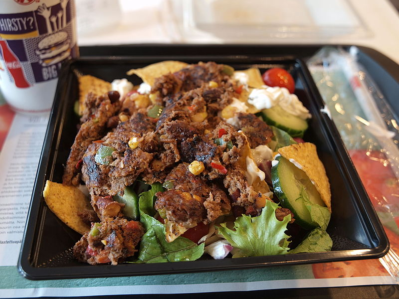 File:McDonald's Fiesta Chili Beef salad.jpg