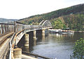 Mechenice bridge with Vysehrad.jpg