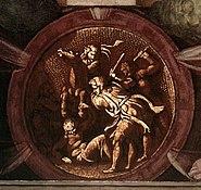 Medallion Death of Uriah