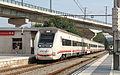Media distancia Barcelona Girona RENFE Class 449 EMU Macanet-Massanes r.jpg
