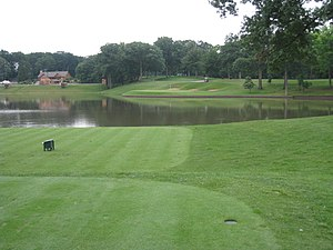 Medinah Country Club - Image: Medinah Country Club, Medinah, Illinois Hole 2