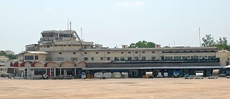 Chennai International Airport - The old terminal (1945) at Meenambakkam