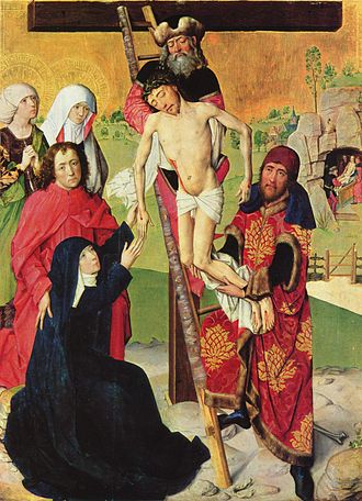 Master of the Life of the Virgin - Deposition of Christ at the Wallraf-Richartz Museum, Cologne.