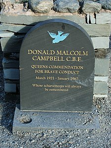 Memorial to Donald Campbell - geograph.org.uk - 490525.jpg