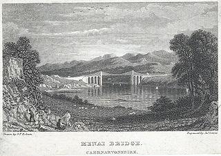 Menai Bridge, Caernarvonshire