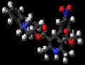 Mepirodipine molecule ball.png
