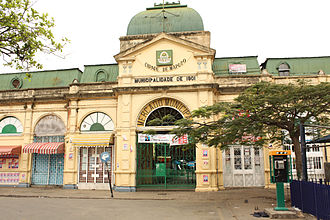 Maputo central market - Entrance to the market