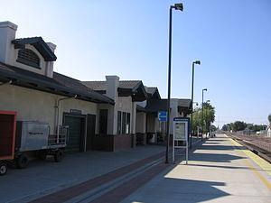 Merced station (Amtrak) - The latest Merced Depot, built in 2000