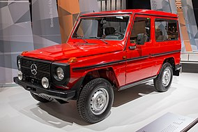 2e03152edb Mercedes-Benz G-Class - WikiVisually