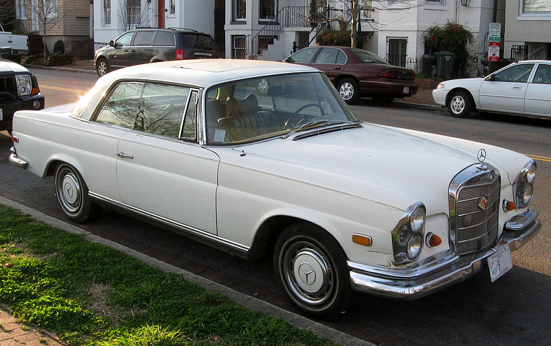 File Mercedes Benz 280 Se Coupe 03 14 2012 Jpg