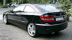 Mercedes-Benz CLC rear 20080828.jpg