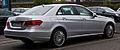 Mercedes-Benz E 220 CDI Elegance (W 212, Facelift) – Heckansicht, 30. August 2014, Düsseldorf.jpg