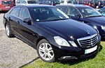 Mercedes-Benz W212 E 220 CDI BlueEfficiency Obsidianschwarz